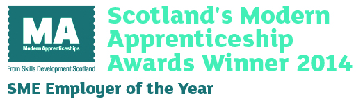 Scottish Modern Apprenticeships Award - SME Employer of the Year 2014